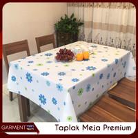 Taplak Meja Makan Ruang Tamu Kotak Anti Air Tebal Premium (137x183cm)