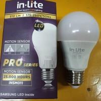 LED Bulb SENSOR PRO 9W - INSM011 IN Lite Bohlam Lampu Sensor Gerak