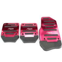Cover Pedal Manual Gas Kopling rem Mobil Anti Slip Car Pedal Sports