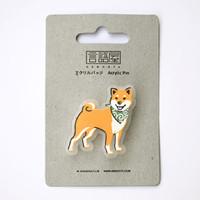 Acrylic Pin - Shiba Inu 芝犬