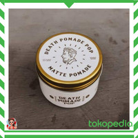 【CARRY】 DEATH POMADE POP CLAY MATTE STRONG 4 OZ