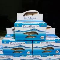 kapsul pro albumin/ikan gabus