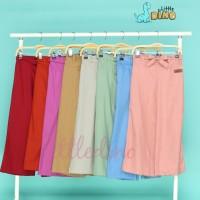 Celana kulot anak perempuan little dino size 8.10.12