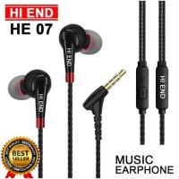 HEADSET EARPHONE HANDSFREE XTRA BASS ORIGINAL HI END
