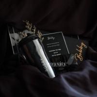 custom box acrylic bestman groomsmen groomsman hadiah pengapit