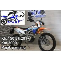 KAWASAKI KLX 150 BF 2017 KM LOW SUPERB CONDITION SIAP GAS