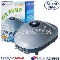 Resun AC-9908 Pompa Udara Aerator Aquarium Silent Air Pump
