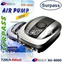 RESUN Air-8000 Pompa Udara Aquarium Air Pump Aerator