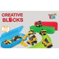 LEGO Tempat Pensil Creative Block Set With Case 11002 Mainan Lego Anak