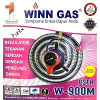 Paket Selang Gas + Regulator Winn Gas PSFR W-900M