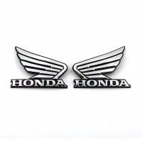 Emblem Wing (Sayap) Honda 3D / Stiker Sayap Motor Honda (not straight)