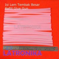 Isi Lem Tembak Besar Big Glue stick Bakar Stik Lilin Refill Glue Gun