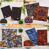 Bahan kain Batik print solo abstrak katun jepang1/2 meter & grosiran