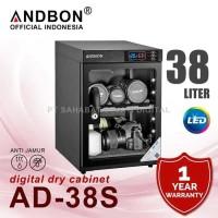 Dry Box Dry Cabinet ANDBON AD-38S Digital Drybox Drycabinet 38 liter