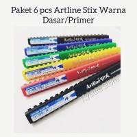 Paket 6 pcs Artline Stix Brush Pen Set Primer Lettering Kaligrafi