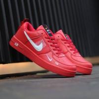 Sepatu Nike Air Force 1 One Utility Red