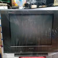 TV SHARP TABUNG SLIM 21in BATIQUE