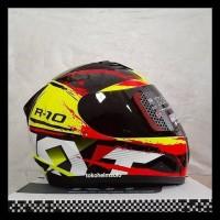 Helm Kyt R10 Seri 2 Yellow Fluo Kode 757
