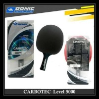 Original Donic Carbotec 5000 Schildkrot Bat Pingpong Tenis Meja Table