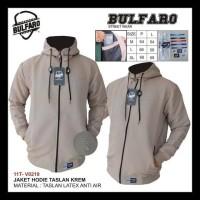 Jaket Pria Anti Air Waterproof Polos Original Bulfaro Kode 570