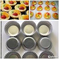 ^^ Cetakan Pie Susu - Egg Tart - Pai Buah (20 buah) .Hot Seller.