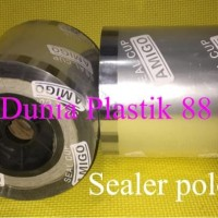 Paling Laris!!!! 1Dus/12Roll Sealer Polos Tutup Gelas Plastik Cup Roll