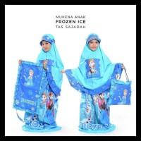 GRATIS ONGKIR Mukena Anak Frozen Ice Biru (Size XL) LIMITED EDITION