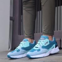 Adidas falcon size 36-40 sepatu wanita casual running olahraga