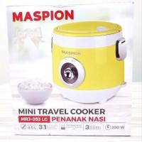Dijual HIJAU Mini Travel Cooker Maspion MRJ053 Rice Cooker Kecil