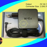 Adaptor Charger NBEX 5V 3A 2.5X0.7mm For Acer One S1002 Advan Vandro