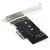 PCIe Adapter Card to NVME M key and BM key M2 NGFF SSD
