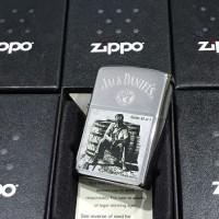 ZIPPO LIGHTER / MANCIS KOREK API ZIPPO ORIGINAL - JACK DANIELS 28755
