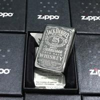 ZIPPO LIGHTER / MANCIS KOREK API ZIPPO ORIGINAL- JACK DANIELS BLACKICE