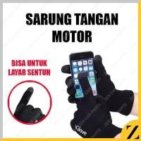 A_igloves iglove sarung tangan motor touchscreen GOJEK GRAB layar sent