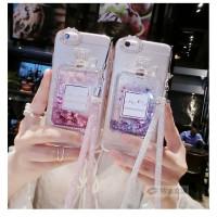 Casing Case Botol Parfum Aksen Berlian + Tali Lanyard Huawei Honor