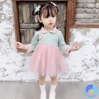 【dudubaba】Chinese Style New Year Baby Girl Long Sleeve