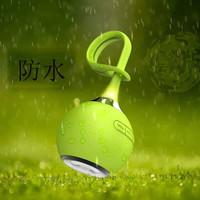 Speaker Portable Outdoor Sport Wireless Bluetooth Waterproof Tahan Air - Hijau muda