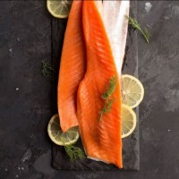 SALMON BELLY STRIP 200-230GR