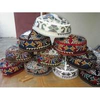 peci kopiah pakistan asli import abstrak grosir