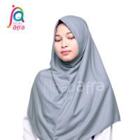 Jilbab Arfa Afra Syifa Pashmina Instan Non Pet Bahan Kaos