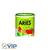 CAT TEMBOK ARIES GOLD SUPER WHITE PAIL 18KG