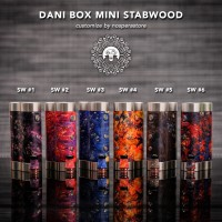Dani Box Mini Stabwood with Drip Tip - Customize