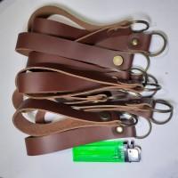 Gantungan Kunci Kulit Asli Lebar tali 2cm