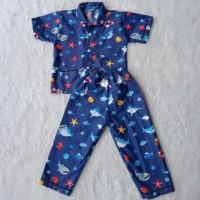 Piyama Anak 0-5 Tahun / Piyama Anak Karakter BABY SHARK