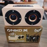speaker bluetooth niko bd1 klasik jam
