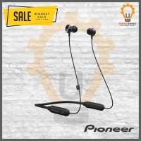 Pioneer Bluetooth Earphone Sport QL7 with NFC Headset bluetooth - Merah Muda