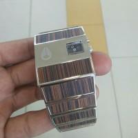 jam tangan nixon rotolog led motif kayu