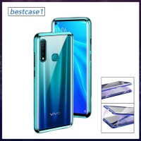VIVO Y17 LUXURY MAGNETIC FRONT+BACK GLASS CASE FULL TEMPERED GLASS