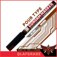 Gundam Marker Pour Type BROWN - GM303P - Pen Lining Panel Lining