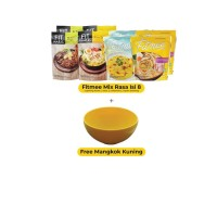 Fitmee Isi 8 Mix Rasa + Mangkuk Kuning